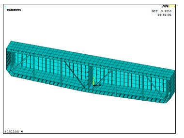Analysis Double Hull CPO Barge Using FEM (ANSYS)