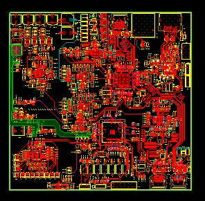 PCB layout 6 layer use Allegro
