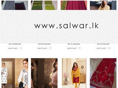 E-commerce Clothing Website