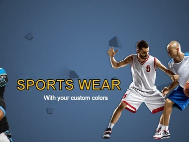 SPORTS BANNERS DESIGNS BY THE DEVELOPERS