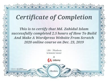 How To Build And Make A WordPress Website From Scratch 2020