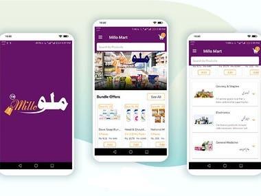 Millo Mart-Shopping App