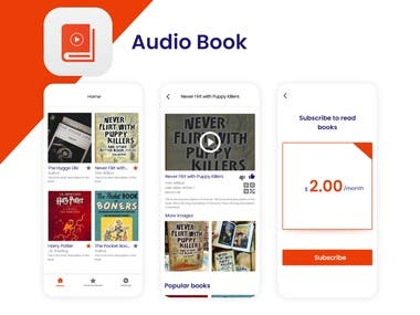 Audio Book Design