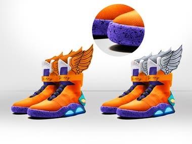 Shoe product creation