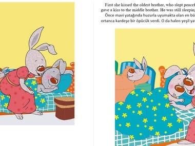 Children book translation