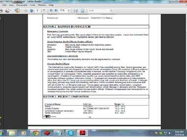PDF convert Word & Excel Typing