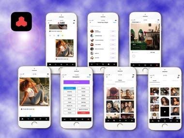 CLQSIX Social App