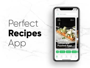 Perfect Recipes App