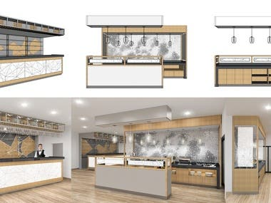 Hotel Buffet Design