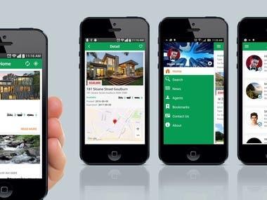 Real Estate Social App