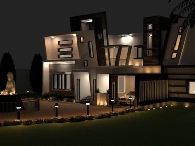 lighting design and night rendering.