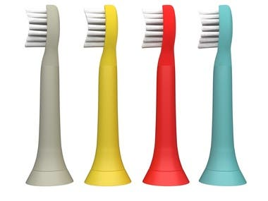 3D Dental Tooth Brush