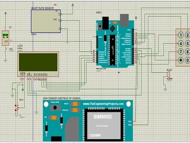 Wireless Patient Heartbeat and monitoring System using GSM