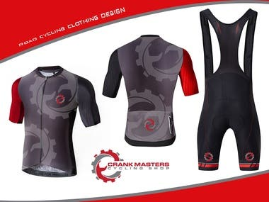 Road cycling clothing design