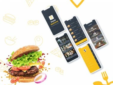 Food Nationz (Food Delivery App)