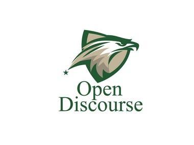 Open-Discourse logo design