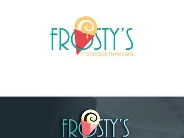 Frostys logo design