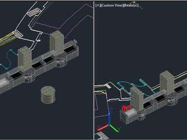 AutoCAD 3d Project