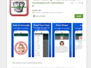 Face Reading - Face Secret 2019 - Android APP