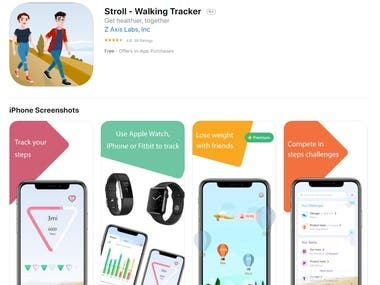 IOS - Stroll - Walking Tracker