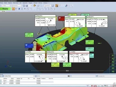 Metrolog XG measuring Software