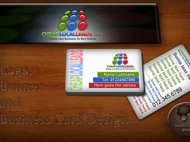 Logo, Banner and Business Card