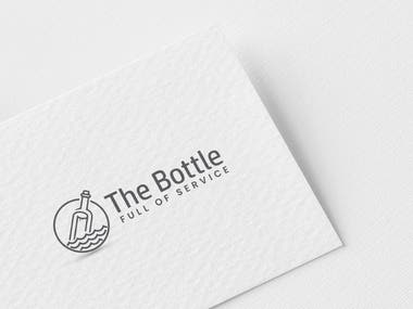 LOGO THE BOTTLE