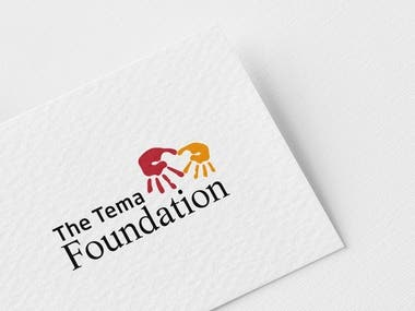 LOGO THE TEMA FOUNDATION