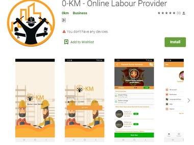 0-KM - Online Labour Provider