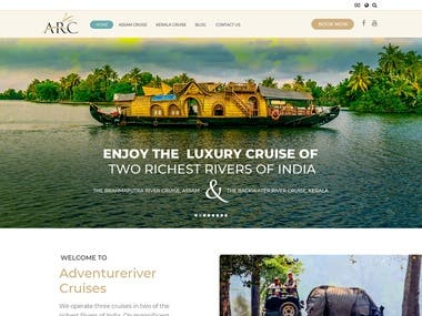 Website Design | Cruise Tour Booking