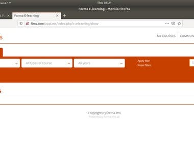 Install Forma Learning Management System (LMS) on Ubuntu
