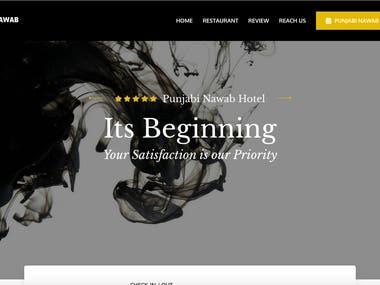 Hotel Booking Website | Python Django