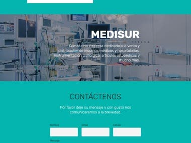 Website www.medisur.com.uy