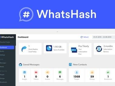 Advanced WhatsApp Web Tool