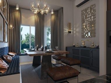 Villa Modern Interior Design