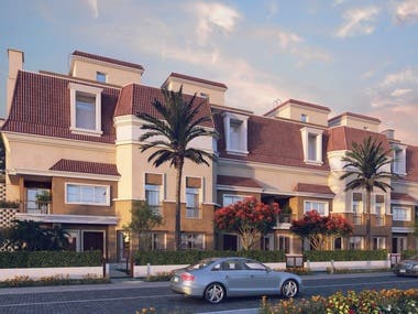 Architectural Visualization for Residential Building