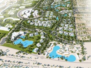 Master Plan for Resort