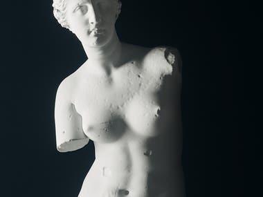3D modeling for Sculpture