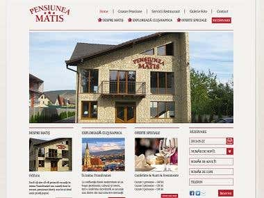 Joomla website for a hotel