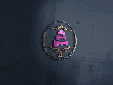 Custom Cake Logo