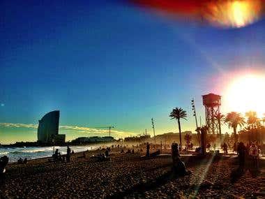 Barca beach