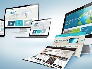 Multiple-Pages-Website-Designing