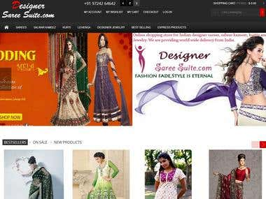 Designer Saree suits