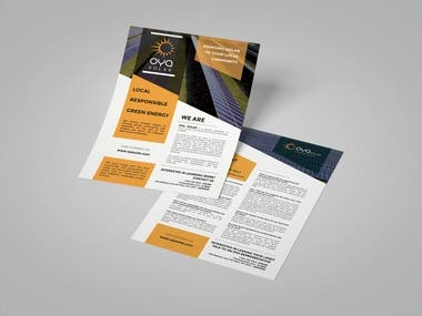 Graphic Design + Mockups - Flyers, Brochures
