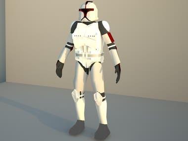 Modelo de Personaje 3D
