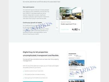 Website in React.js