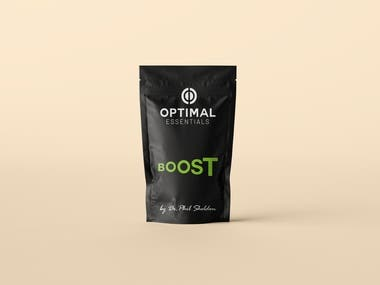 packaging for a nutrition company