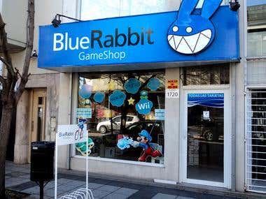 BLUE RABBIT GAMESHOP