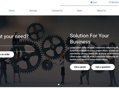 ItFlox Services providing Company website