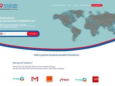 Web Homepage Animation